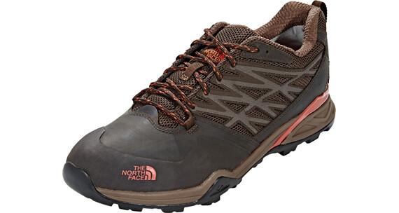 The North Face Hedgehog Hike GTX Shoes Men Demitasse Brown/Tibetan Orange